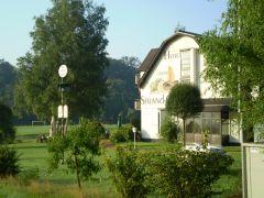 Het hotel in het Westerwald