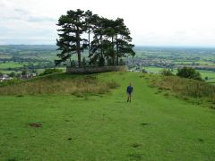 Landschap op de Cotswold Way