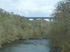 Offa's Dyke Path: het Pontcysyllte Aquaduct bij Llangollen