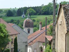 Wandelen in Haute Saone: dorpje Calmoutier