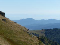 Wandelen Hoge Vogezen: uitzicht bij Le Honeck