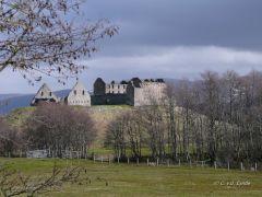 schotland, East Highland Way: Ruthven Barracks