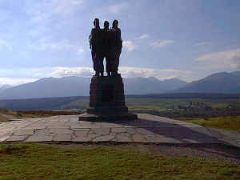 Great Glen Way, Commando Memorial