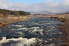 West Highland Way: River Orchy bij Rannoch Moor