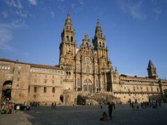 De kathedraal in Compostela, het eindpunt van de Camino Primitivo