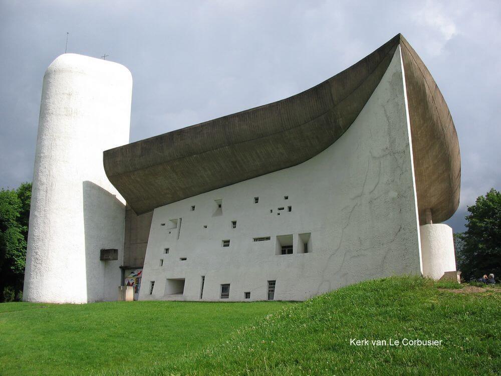 kerk van le corbusier