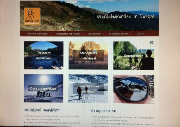 Nieuwe home page Travellers.nl