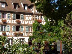 Trektocht in de Elzas: het hotel in Turckheim